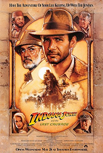 Poster Indiana Jones La Ultima Cruzada 100X70 cm. M