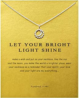 Hundred River Friendship Anchor Compass Necklace Good Luck Elephant Pendant Chain..