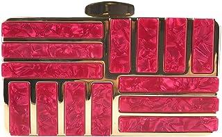 comprar comparacion Luckycat Bolso de Fiesta Carteras de Mano Monedero para Boda Ceremonia Brillante Rhinestone Billetera para Boda Mujer Embr...