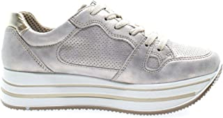 Luxury Fashion | Igi & Co Women 5165666ARGENTO Silver Leather Sneakers | Spring-summer 20