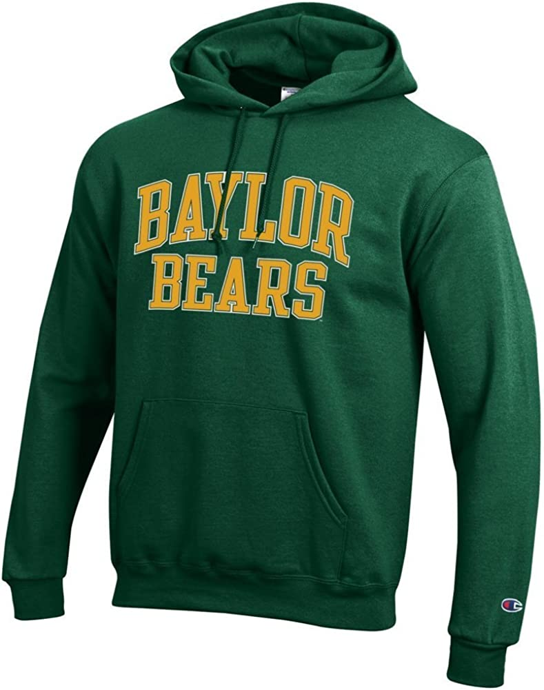 Elite Fan Shop NCAA Mens Front//Back Team Hoodie Sweatshirt
