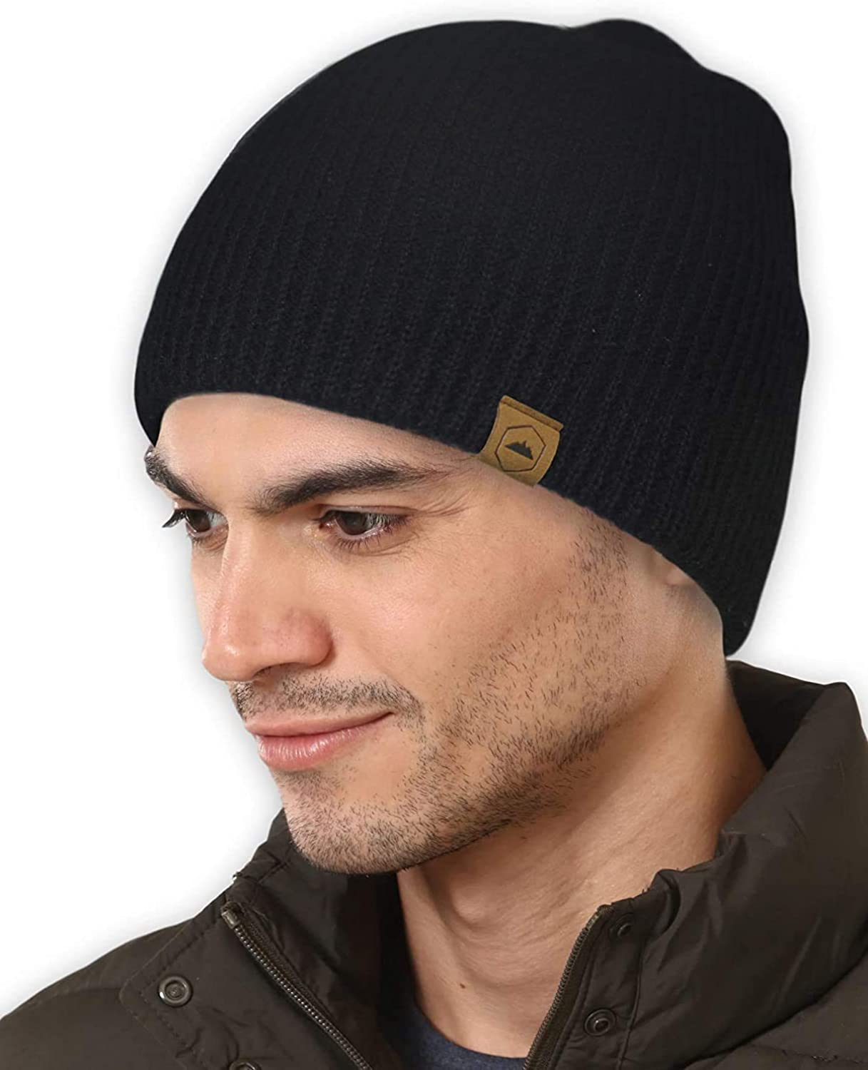 Winter Spasm price Beanie Raleigh Mall Knit Hats for Men Merino Women Wool - Cap Ribbed