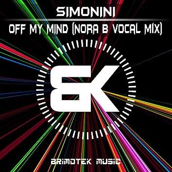 Off My Mind (Norah B Vocal Mix)