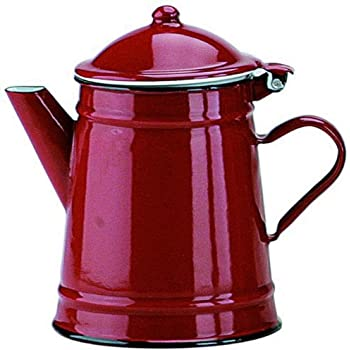 Ibili 910250 - Cafetera Conica Roja 0,50 Lts.: Amazon.es: Hogar