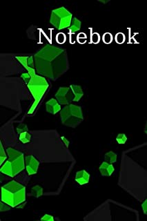 """Notebook: 8.5"""" x 11"""" Notebook For Fast Ideas, Appointments, Daily Habits, Diary."""