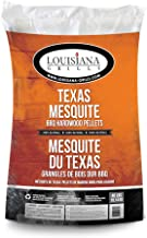 Louisiana Grills Texas Mesquite 55408 Pellets, 40-Pound
