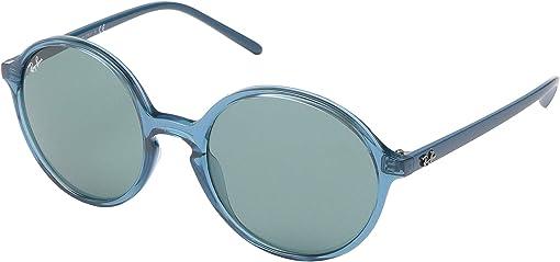 Transparent Turquoise