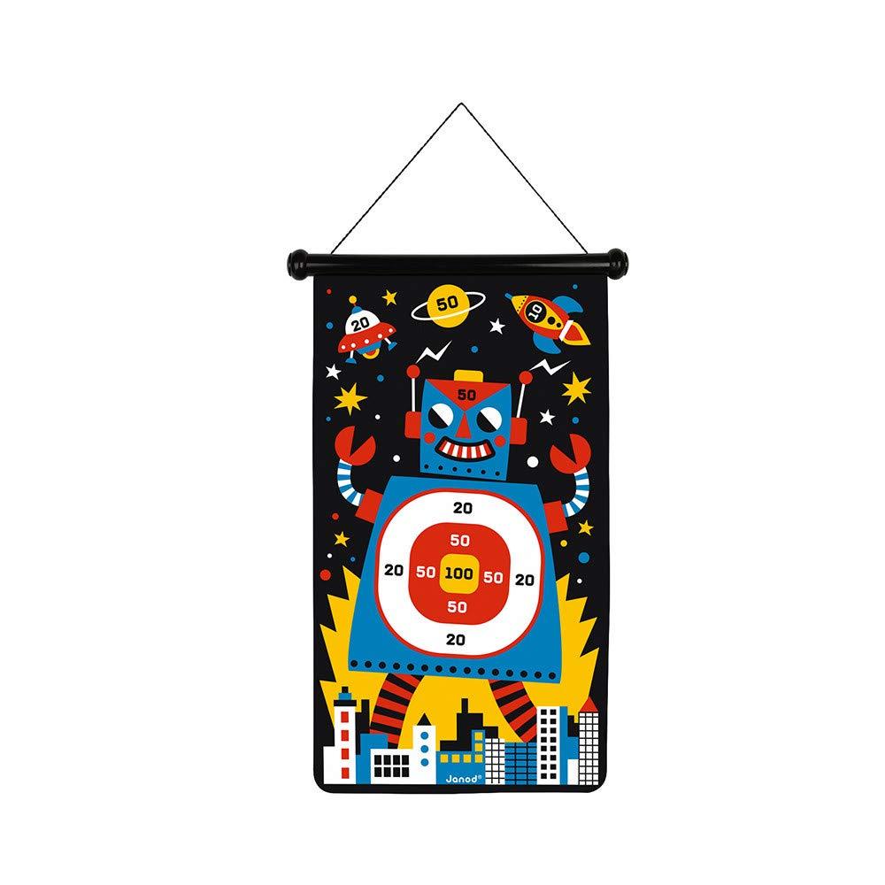 Janod - Robots Juego de Dardos Magnéticos (J02073): Amazon.es: Juguetes y juegos