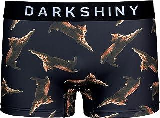 [DARK SHINY(ダークシャイニー)] ボクサーパンツ クリエイターズコラボ 飛び猫 ユニセックス