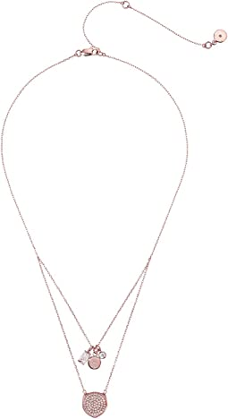 Michael Kors - Brilliance Circle Pendant Necklace