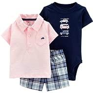 Baby Boys 3-Piece Little Short Set