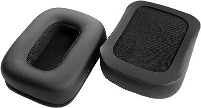 Oído reemplazo Pad Almohadillas cojín de Piel Reparación Piezas para Mad Catz Tritton Kunai Auriculares inalámbricos Auriculares estéreo para Juegos PS4 (earmuffes/cojín) (1 par)