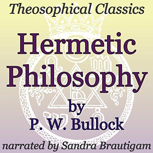 Couverture de Hermetic Philosophy