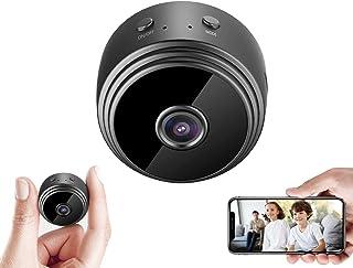 Mini Caméra Espion Cachée WiFi Petite Vidéo HD 1080P Vision Nocturne Détection de Mouvement Sécurité Nanny Cam de Surveill...