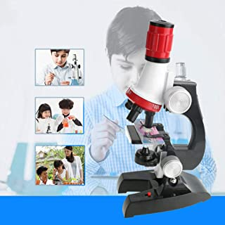 Lupa 30x Microscopio de Bolsillo NPW Niños Educativo Aprendizaje Juguete Regalo