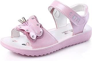 WYSBAOSHU Summer Girls Sandals Cute Butterfly Anti-Skid Sandal Beach Shoes