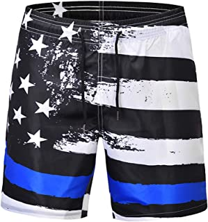 Men' s Swim Trunks - Quick Dry Board Shorts, Great for Beach Vacation, Hawaii, Pool Party & Surfing