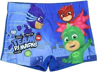 d80b5dccff34 Pj Masks Superpigiamini - Costume Boxer Pantaloncino Mare Piscina - Bambino  - Prodotto Originale con Licenza
