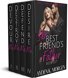 Her Best Friend's Father: The Complete Federal Agent Romantic Suspense Saga Box Set