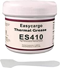 Easycargo 200gr Thermal Paste Kit, Conductive Grease, Heatsink White Silicone Carbon Compound for Cooling Heat Sink Interface CPU GPU VGA LED Transistors (200gr)