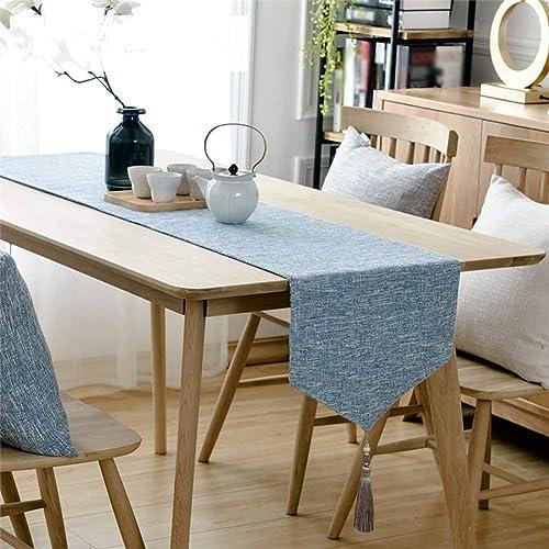 ventas en linea SCJS Table Runner Table Table Table Runner Burlap Tassel Design Pure Color Elegant (Tamaño  36  220 cm)  tomamos a los clientes como nuestro dios