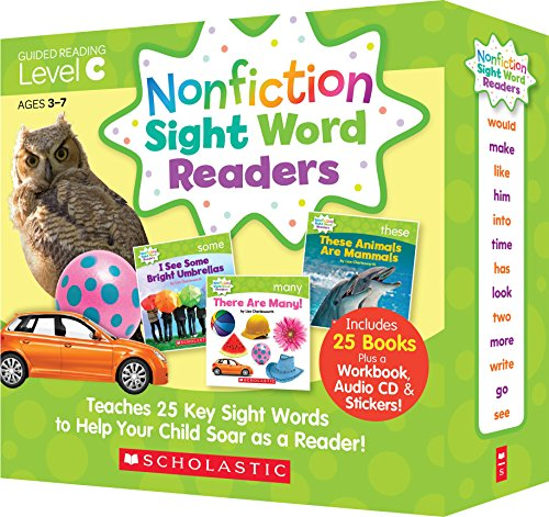 Scholastic Nonfiction Sight Word Readers レベル C 英語教材 25冊セット CD付