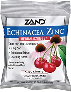Zand HerbaLozenge Cherry Echinacea Zinc 15ct
