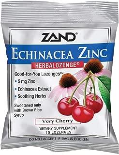 Zand Herbal Lozenges, Echinacea Zinc, 15 Lozenges