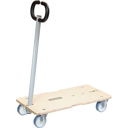 WAGNER carrello da trasporto MM 1333 I piattaforma di carico allungabile I timone pieghevole I 74-101 x 37 cm I portata 200 kg I 25 anni di garanzia I regolabile in modo flessibile - 20133301