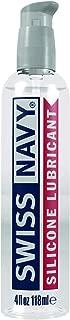 Swiss Navy Premium Silicone Lubricant, 4 oz, MD Science Lab