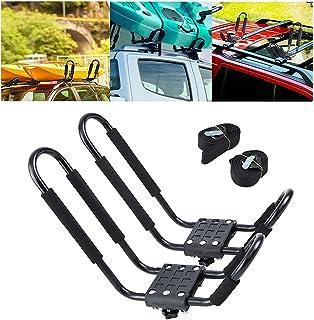 Ambienceo J Bars Portaequipajes para Kayak, Soporte para Transporte de Coche, Accesorio de Ayuda de Carga, Soporte Resiste...