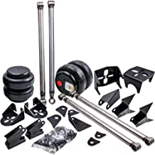 Tuningsworld Universal Rear Triangulated 4 Link Suspension Bracket Kits with Two 2500 Air Bags & Rear Air Bag Mounts for Truck Classic Cars