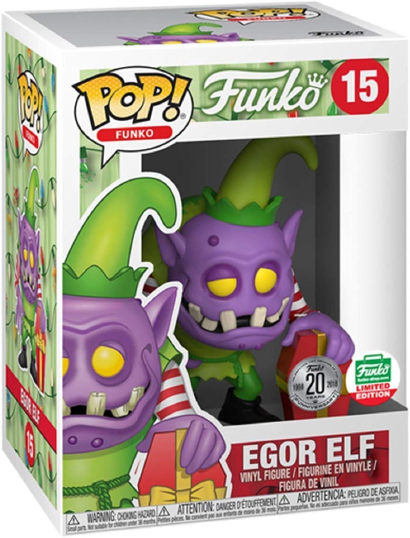 Funko POP  Egor Elf  15 Funko Shop's [2018] 12 Days of Christmas Funko Shop Limited Edition Exclusive Vinyl Figure
