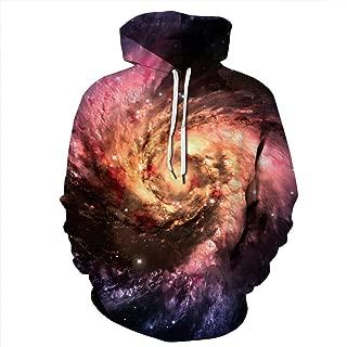 Unisex Galaxy Pockets 3D Pullover Hoodie Hooded Sweatshirts Hoodies