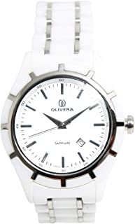 Casual Watch for Men by Olivera, Multi Color, Round, OG1326