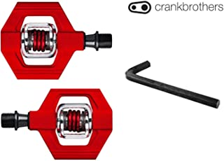 CRANKBROTHERs Crank Brothers Candy 1 Bike Pedal Bundle, 8mm Hex Included - Pick Your Color