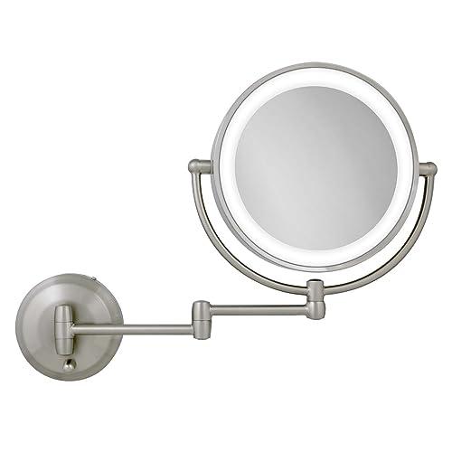 Led Wall Makeup Mirrors Amazon Com
