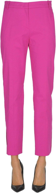 Pinko Women's MCGLPNC000005016E Purple Cotton Pants