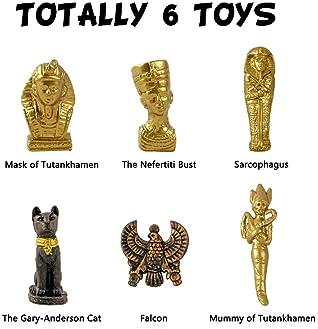 XX Egyptian Mummy Toy Dig Excavation Kit Stocking Stuffer Gift for Kids 6 Packs