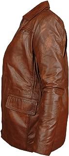 Gen1 Leathers Hunger Games - Synthetic Brown Jennifer Lawrence Katniss Everdeen Jacket