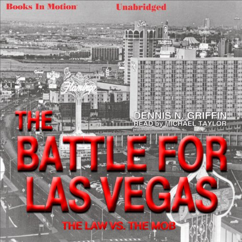 Battle for Las Vegas audiobook cover art