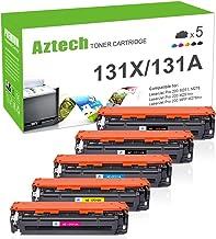 3x MWT PRO Toner für HP LaserJet Pro 200 color M-276-nw M-276-n M-251-nw M-251-n