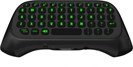 LED ChatPad for Xbox One, Xbox One S, Xbox 1 X, Xbox One Controller Keyboard – Wireless & Backlit
