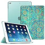 FINTIE Custodia per iPad Air 2 (Modello 2014) / iPad Air (Modello 2013) - Ultra Sottile del Basamento Leggero Cover Case con Auto Svegliati/Sonno Funzione, Shades of Blu