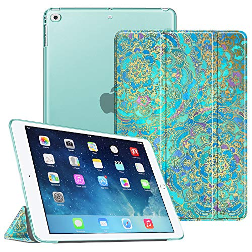 Fintie Funda iPad Air - Trasera Transparente Mate