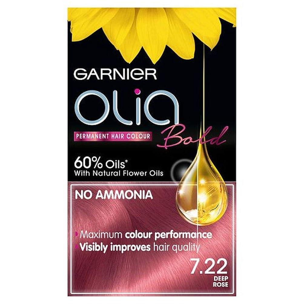 宿アンペアきつく[Garnier ] ガルニエOlia大胆な深いは永久染毛剤をバラ - Garnier Olia Bold Deep Rose Permanent Hair Dye [並行輸入品]