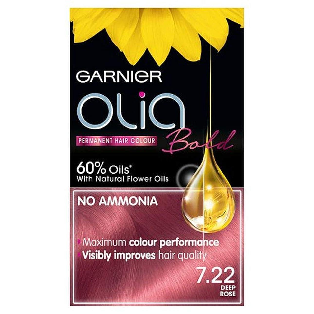 にんじん飛び込むケイ素[Garnier ] ガルニエOlia大胆な深いは永久染毛剤をバラ - Garnier Olia Bold Deep Rose Permanent Hair Dye [並行輸入品]