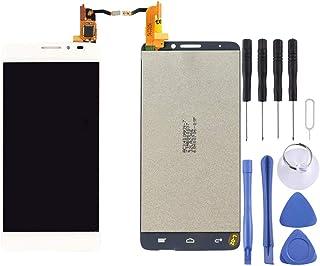 مجموعة كاملة من شاشة LCD ومحول رقمي من Lingland لهاتف Alcatel One Touch Idol X / 6040 / 6040A (أسود) .Phone Phone Phone ال...