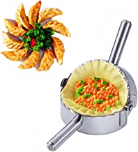 BellaBetty Dumpling Maker - Empanada Press/Stainless Steel Pie Ravioli/Pierogi/Dumpling Mold Wrappers Kitchen Accessories (4.75