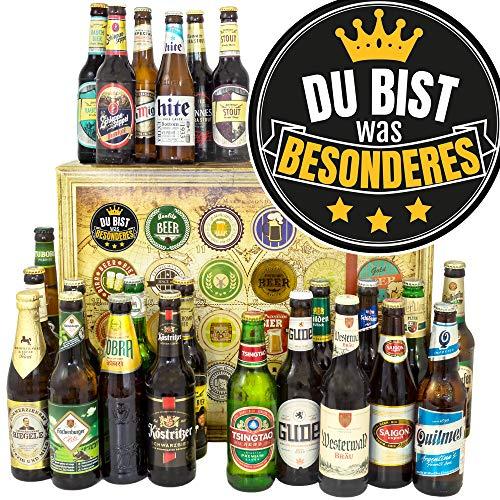 Du bist Besonders/Bierbox Welt und DE/Geschenke Freund/Bier Weihnachtskalender